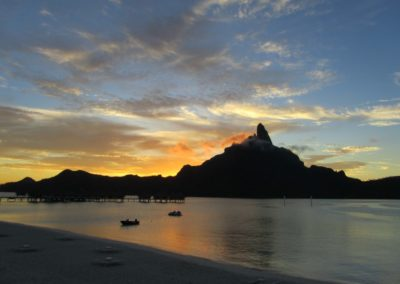Bora Bora sunset
